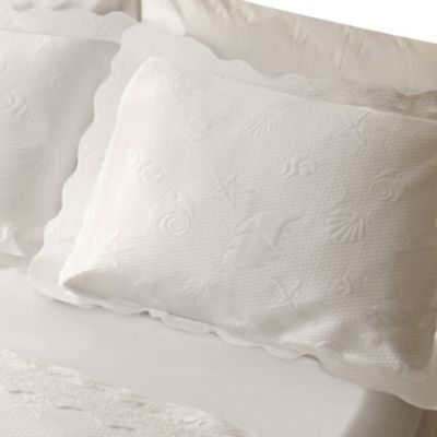 Lamont Home™ Sea Spray Standard Pillow Sham in White