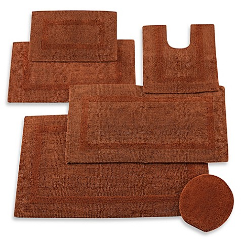 Buy Wamsutta 174 Reversible Contour Bath Rug In Brick From