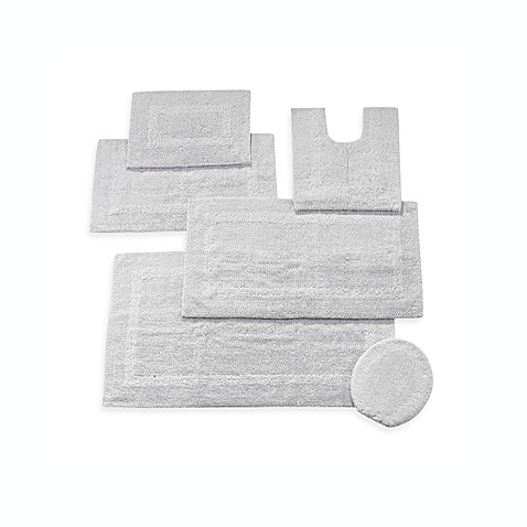 Buy Wamsutta 174 Reversible Contour Bath Rug In Chrome From