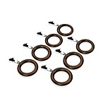 Hudson Vintage Bronze Clip Rings (Set of 7)