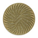 Pablo Round Rug in Gold