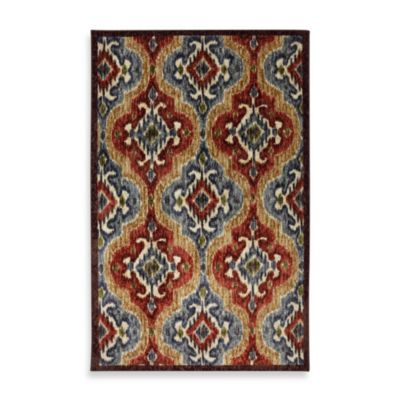 Mohawk Home Primary Ikat Indoor Rugs