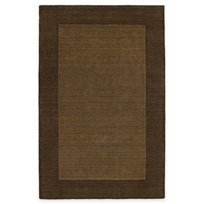 Kaleen Regency 5-Foot x 7-Foot 9-Inch Indoor Rug in Chocolate