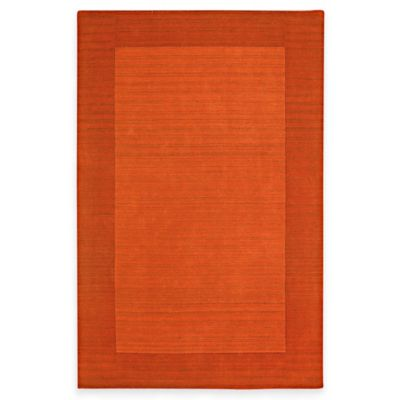 Kaleen Regency 8-Foot x 10-Foot Rug in Pumpkin