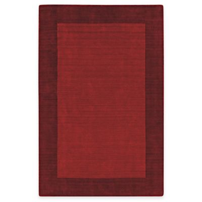 Kaleen Regency 5-Foot x 7-Foot 9-Inch Indoor Rug in Red