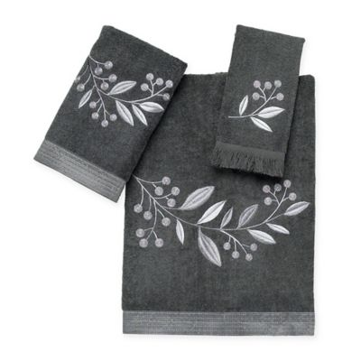 Avanti Madison Hand Towel in Granite