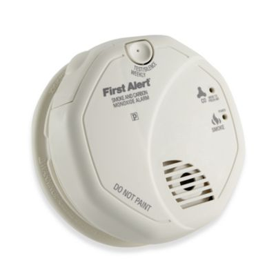 First Alert® SCO5CN Combination Smoke and Carbon Monoxide Alarm