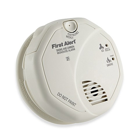 buy first alert sco5cn combination smoke and carbon monoxide alarm from bed bath beyond. Black Bedroom Furniture Sets. Home Design Ideas