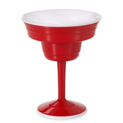 Reusable 12-Ounce Margarita Cup in Red