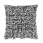 Wild Cheetah Square Toss Pillow