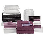 Solid Plum/Purple 22-Piece Ultimate Dorm Room Kit