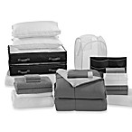 Solid Dark Grey/Light Grey Dorm Room Kit