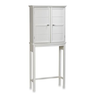 Real Simple® Curved Collection Floor Cabinet in Cream