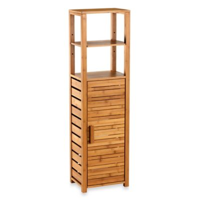Bamboo Tall Floor Cabinet