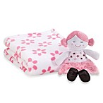 Cutie Pie® 2-Piece Blanket with Doll Set - Flower