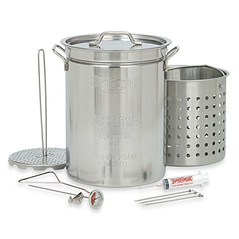 Bayou Classic® 32-Quart Stainless Steel Turkey Fryer