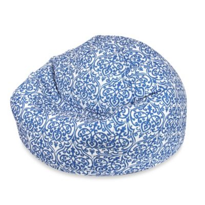 Large Chandelier Blue Bean Bag Chair Cover