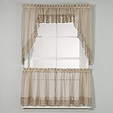 Bali Kitchen Window Curtain Tiers