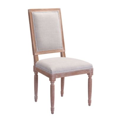 Zuo® Modern Cole Valley Chairs in Beige (Set of 2)