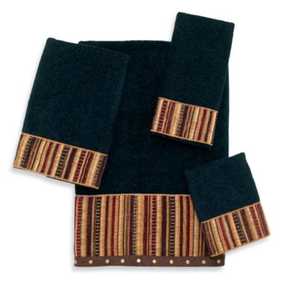 Avanti Odele Black Bath Towel