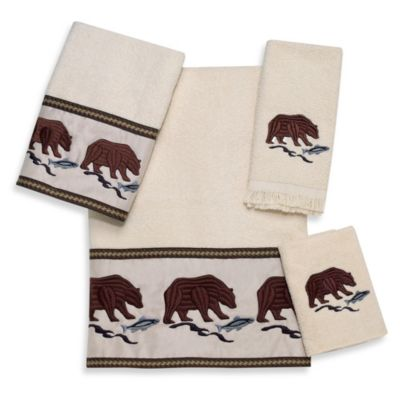 Avanti Northwest Ivory Fingertip Towel