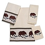 Avanti Northwest Wash Cloth in Ivory