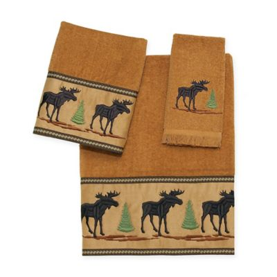 Avanti Forestry Hand Towel in Nutmeg