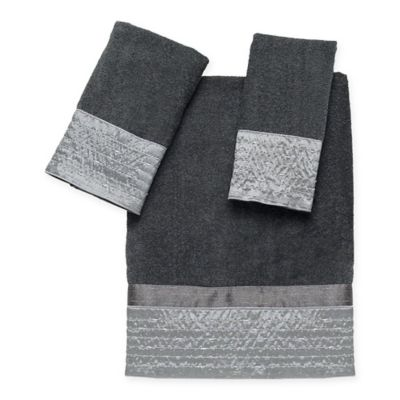 Avanti Lexington Fingertip Towel in Granite