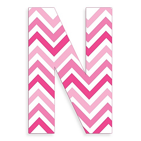 Buy Stupell Industries Tri-Pink Chevron 18-Inch Hanging ...