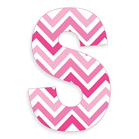 K Letter Images In Pink ... Decor > Stupell Industries Tri-Pink Chevron 18-Inch Hanging Letter &qu...