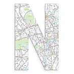 Stupell Industries London Map 18-Inch Hanging Letter