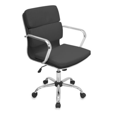 LumiSource Bachelor Office Chair in Black