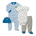 Carter's® 4-Piece Lil Monster Layette Set