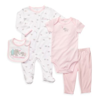 Carter's® 4-Piece Mommy's Sweetie Layette Set
