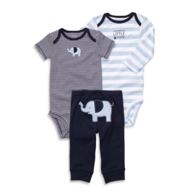 Carter's® Elephant 3-Piece Pant Set