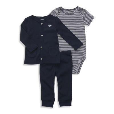 Carter's® Navy 3-Piece Cardigan Set