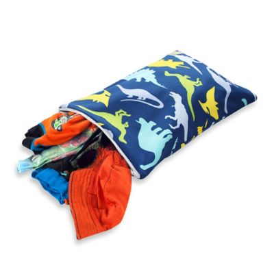 Itzy Ritzy® Travel Happens™ Sealed Wet Bag in Dino-Mite
