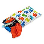 itzty ritzy® Medium Travel Happens™ Sealed Wet Bag in Monkey Mania Print