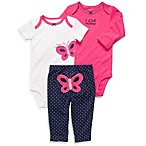 Carter's® 3-Piece Preemie Butterfly Pant Set