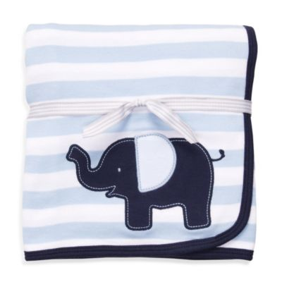 Carter's® Navy Blue Elephant Cuddle-Me Blanket