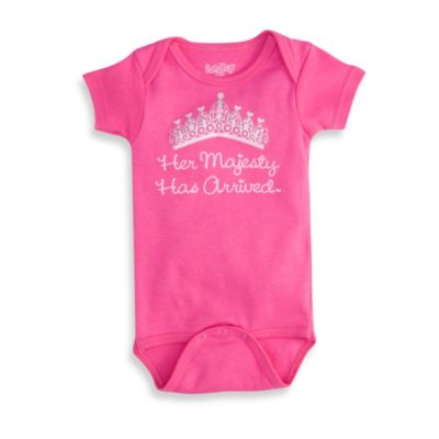 Sara Kety® Hot Pink Her Majesty Infant Snapsuit - 0 to 6 Months