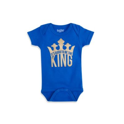 Sara Kety® Royal Blue King Infant Snapsuit - 12 Months