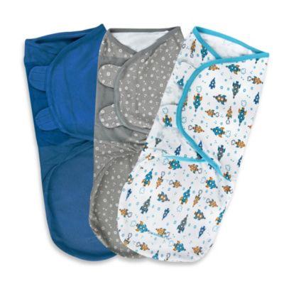 SwaddleMe® Large 3-Pack Adjustable Blankets in Superstar