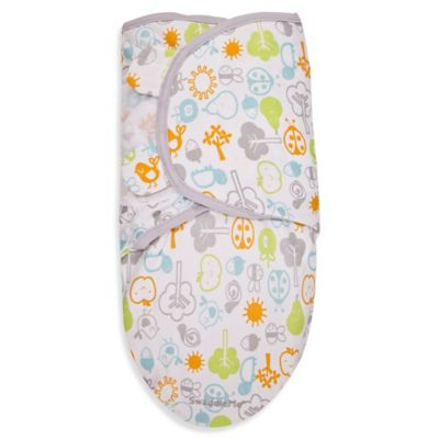SwaddleMe® Small Cotton Swaddle in Friendly Fruit