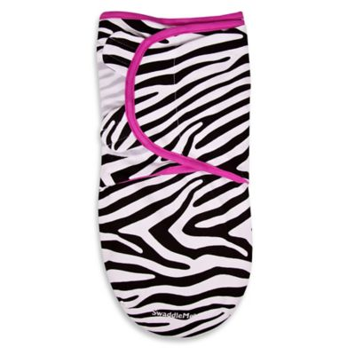 Summer Infant® SwaddleMe® 1-Pack Small in Pink Zebra
