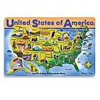 Melissa & Doug® Wood U.S.A. Map Puzzle