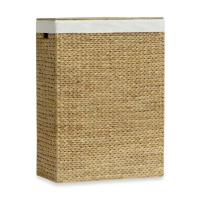 Buy Water Hyacinth Storage Ottoman From Bed Bath Amp Beyond