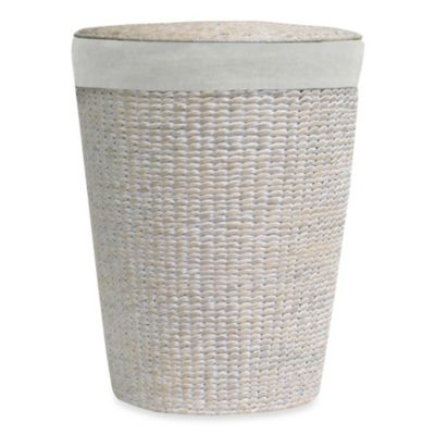 Lamont Home™ Makatea Water Hyacinth Round Hamper