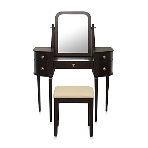 Lamont Home Chelsea Vanity Set In Espresso Bed Bath Beyond