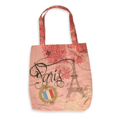 Pink Book Tote
